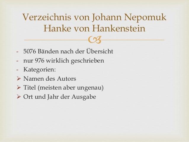 - 5076 Bänden nach der Übersicht - nur 976 wirklich geschrieben - Kategorien:  Namen des Autors  Titel (meisten aber u...