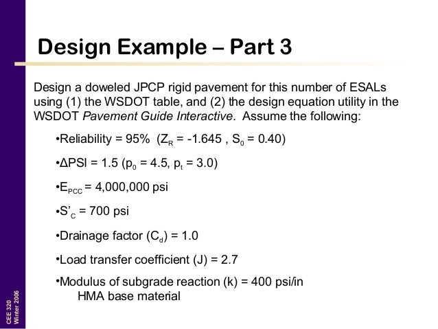 Pavement Design (Transportation Engineering)