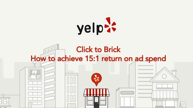 Click to Brick How to achieve 15:1 return on ad spend