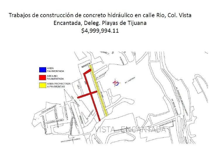 Pavimentación de la calle Rio