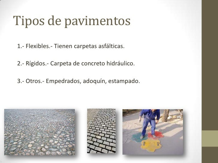Pavimento flexible 2 hj - Clases de pavimentos ...