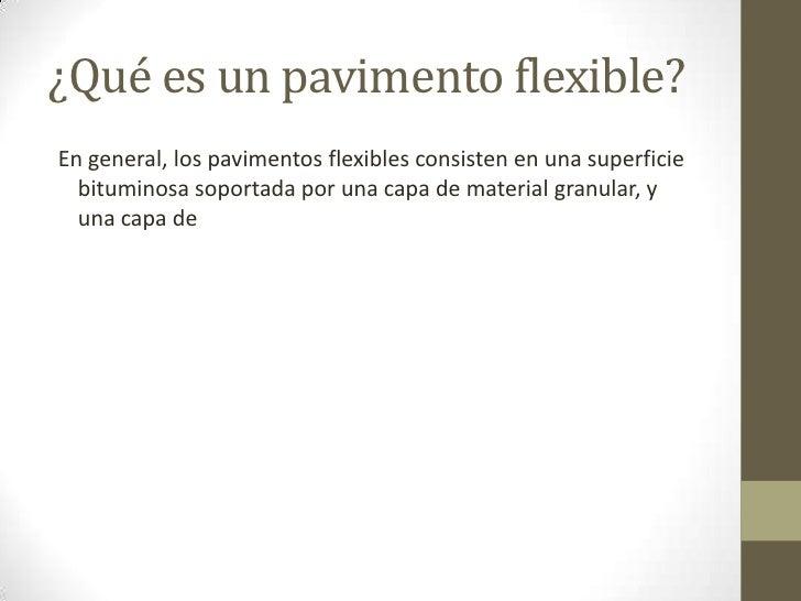 Pavimento flexible 2 hj - Que es pavimento ...