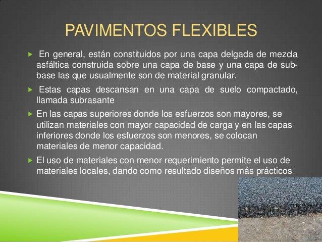 Pavimento flexible y rigido - Que es pavimento ...