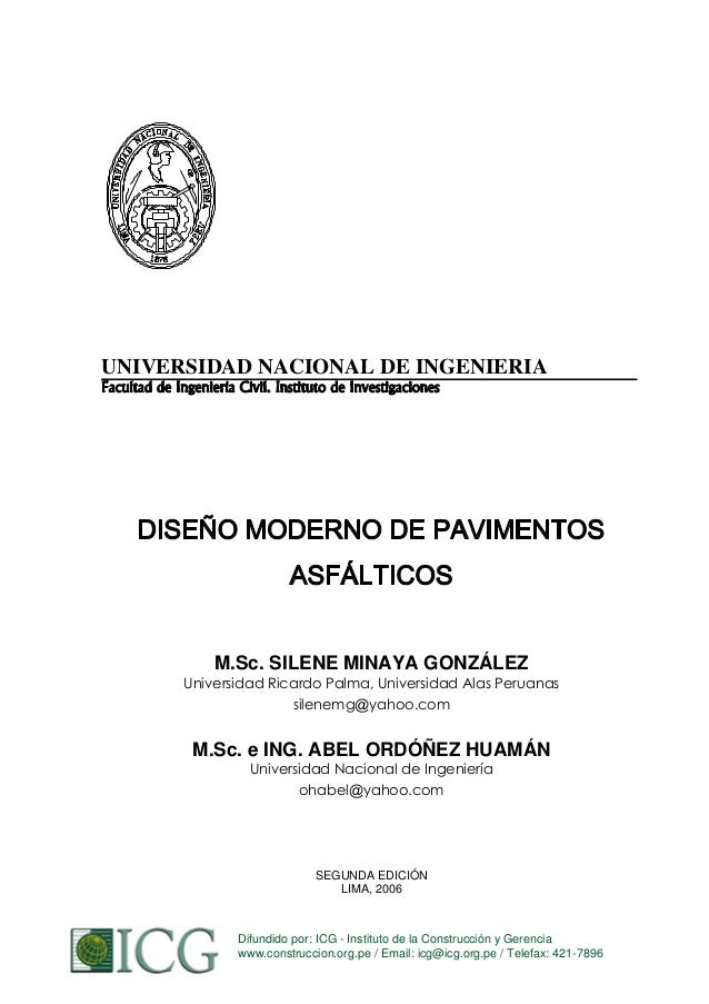 UNIVERSIDAD NACIONAL DE INGENIERIA  M.Sc. SILENE MINAYA GONZÁLEZ Universidad Ricardo Palma, Universidad Alas Peruanas sile...