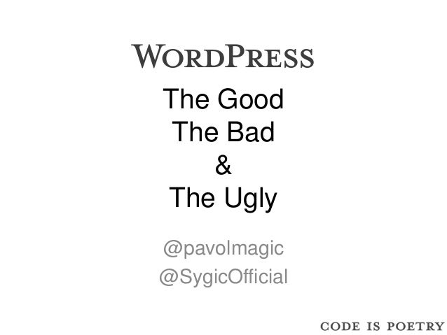 The GoodThe Bad&The Ugly@pavolmagic@SygicOfficial