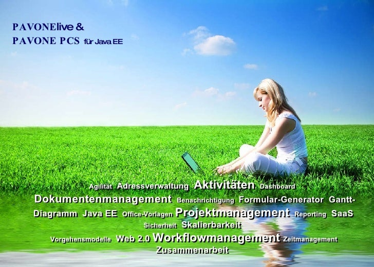 PAVONE live & PAVONE PCS  für Java EE Agilität   Adressverwaltung   Aktivitäten   Dashboard   Dokumentenmanagement   ...