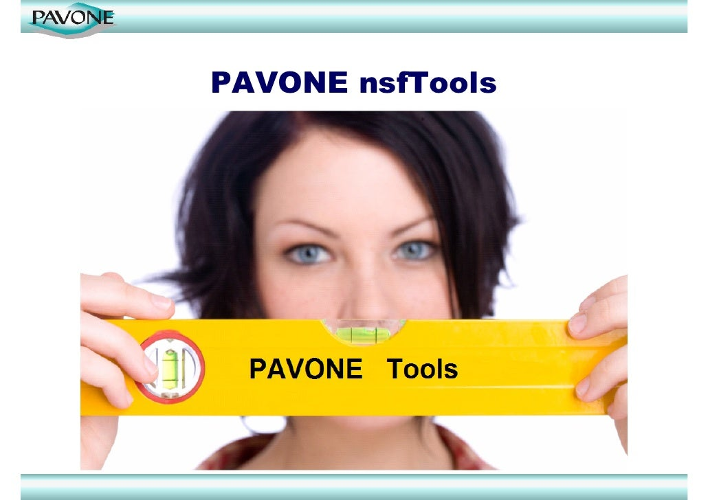 PAVONE nsfTools