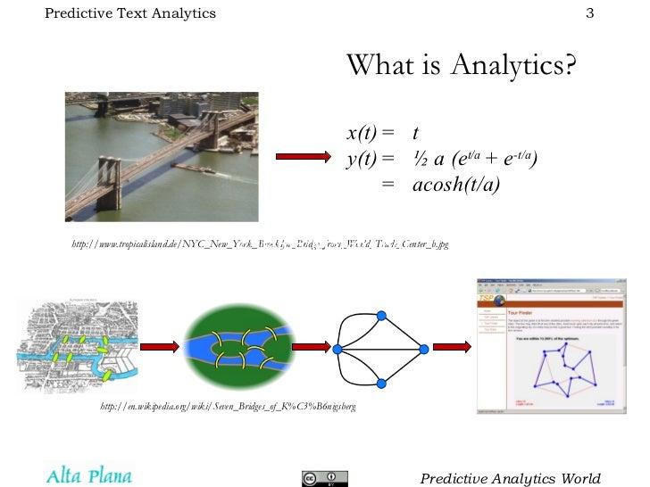 Predictive Text Analytics Slide 3