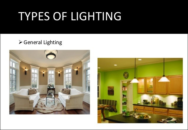 TYPES OF LIGHTING Decorative Lighting ...