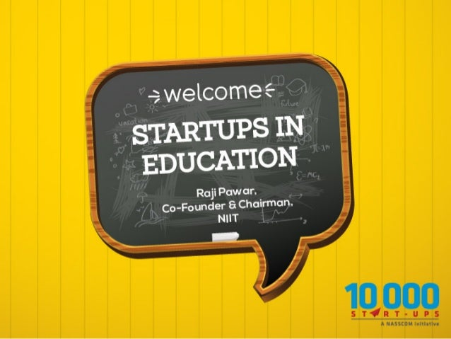 Start-ups in Education
