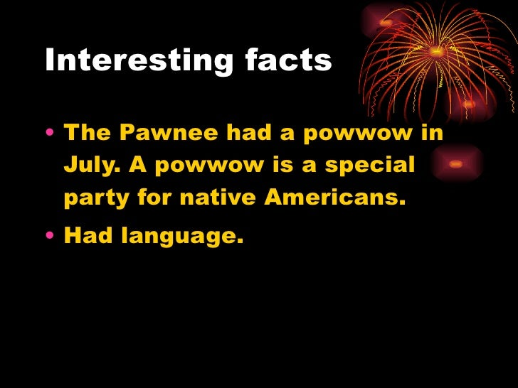 pawnee indians