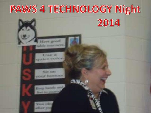 Paws4 technology night