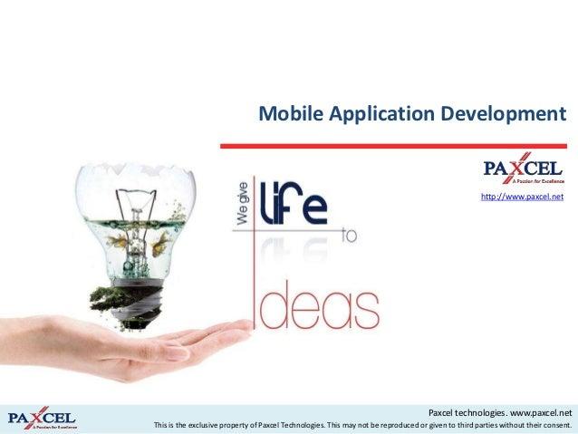 Mobile Application Development                                                                                            ...