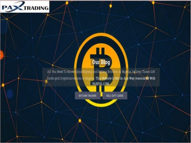 Pa xtradings is offering online bitcoin trading in nigeria Slide 2