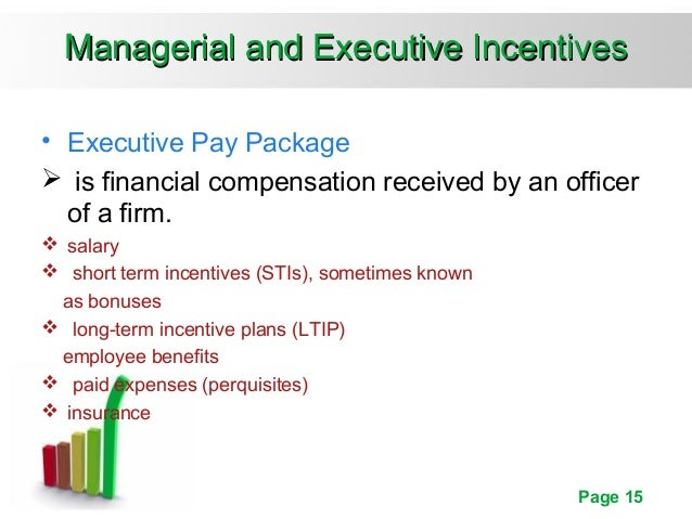 Pay for performance incentive rewards for Long term incentive plan design