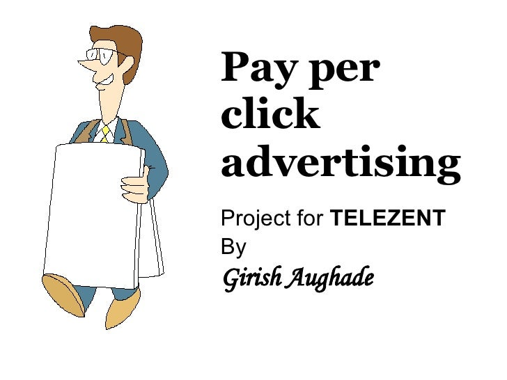 Pay per click advertising Project for  TELEZENT By Girish Aughade