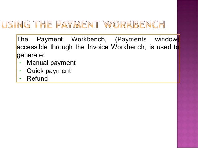 Oracle Payable Complete Business flows