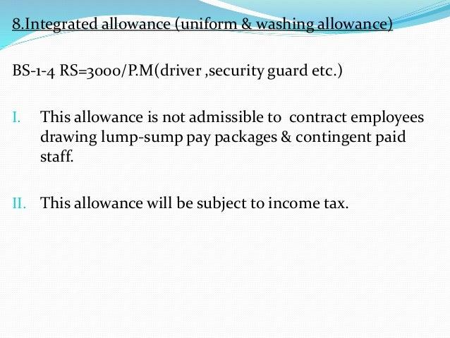 Pay allowances&advances by GOVT  of punjab