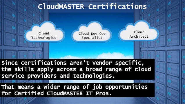 certifications pay well cloudmaster consider why