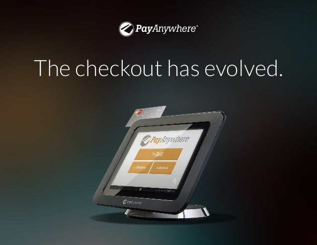 The checkout, evolved. The checkout has evolved.