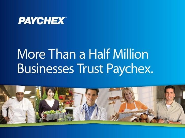Paychex Presentation