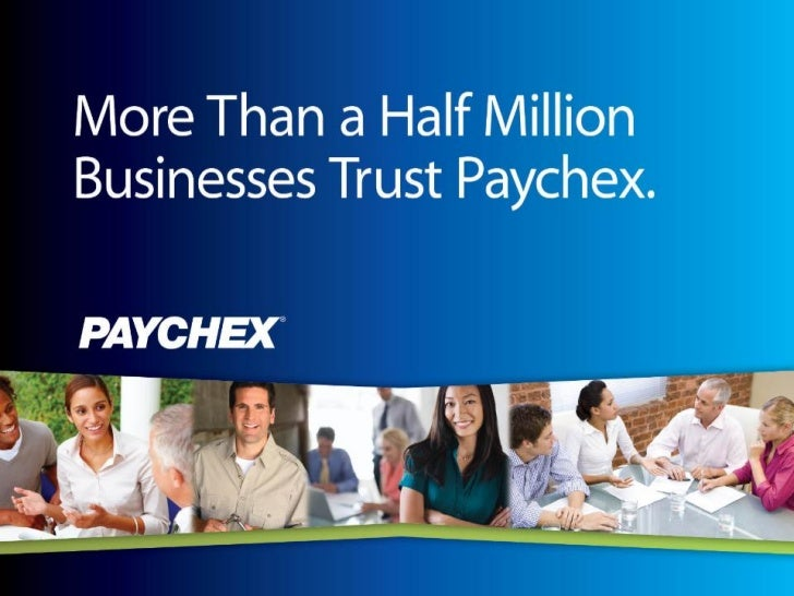 Paychex presentation to_small_business