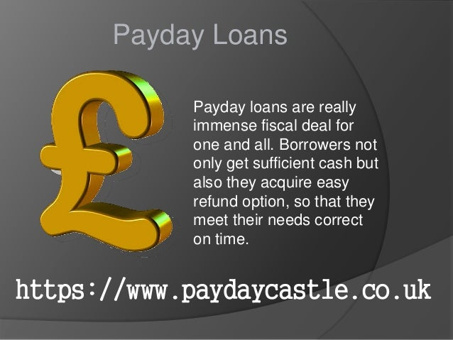 Bank loans vs payday loans picture 1