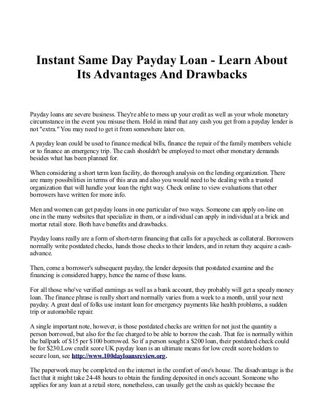 Trusted instant payday loans photo 2