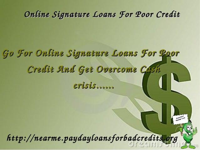 Signature Loans | LendingTree