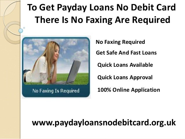 Get A Payday Loan With A Prepaid Debit Card Comparison The