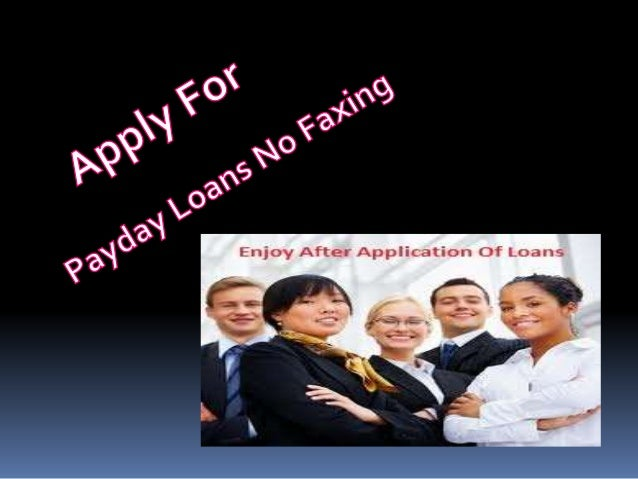 Instantly Attain Funds Without Faxing Stress