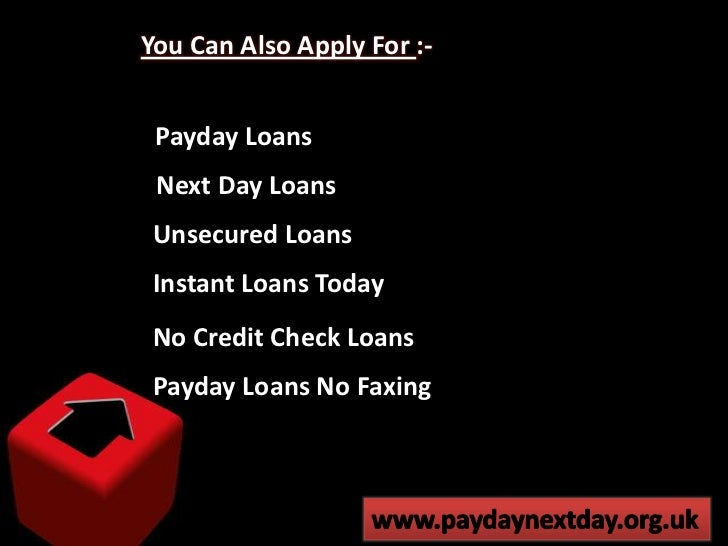 Online Payday Loans - Finding the Alternative