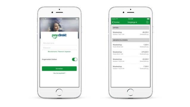 Paydirekt - Ein kurzer Walkthrough