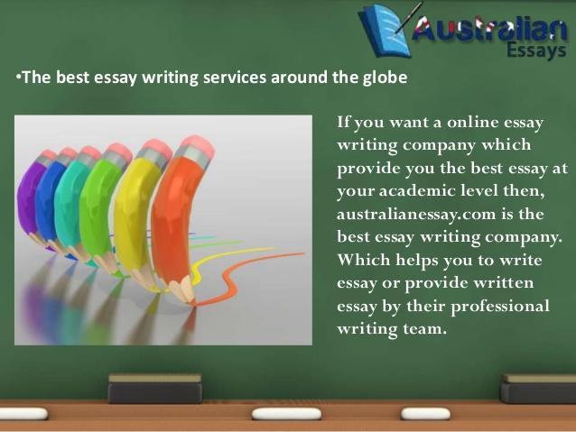 Pay for essay australia