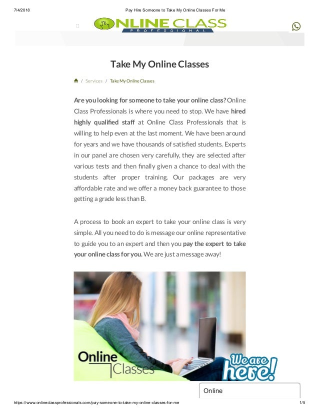 Pay Hire Someone To Take My Online Classes For Me  Pay Hire Someone To Take My Online Classes For Me Https
