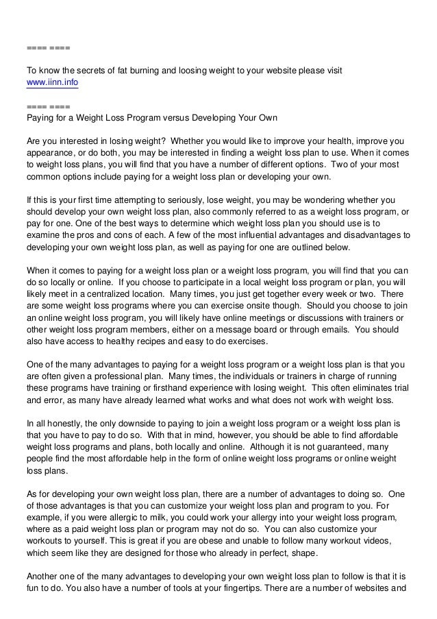 ==== ==== To know the secrets of fat burning and loosing weight to your website please visit www.iinn.info ==== ==== Payin...