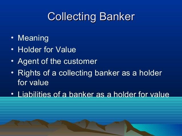 Paying banker and collecting banker b.v.raghunandan-chapter 6