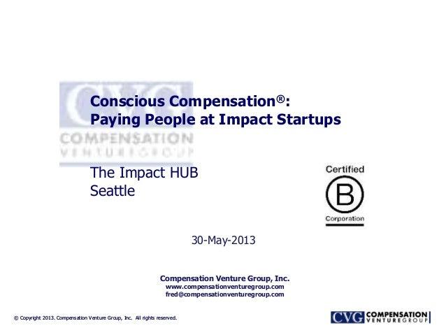 © Copyright 2013. Compensation Venture Group, Inc. All rights reserved.© Copyright 2013. Compensation Venture Group, Inc. ...