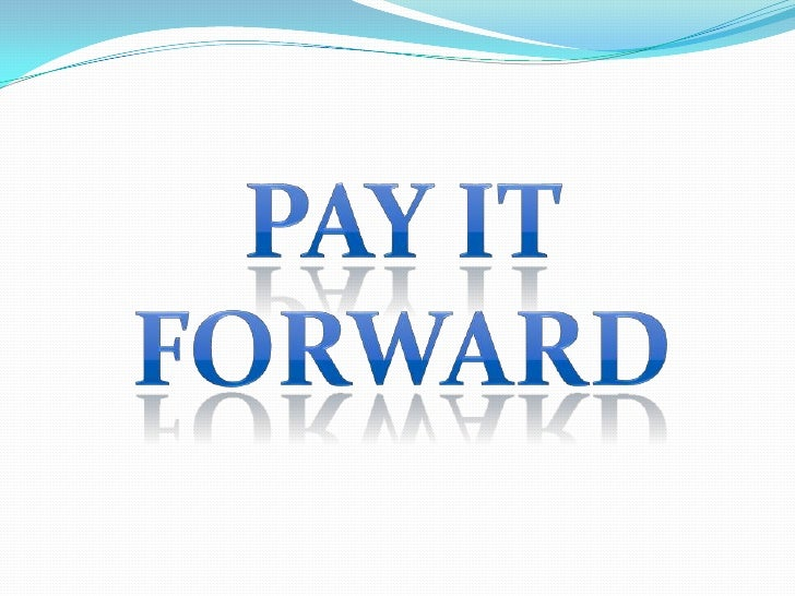 PayIt Forward<br />