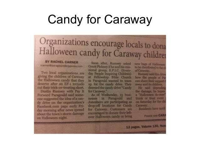 Candy for Caraway