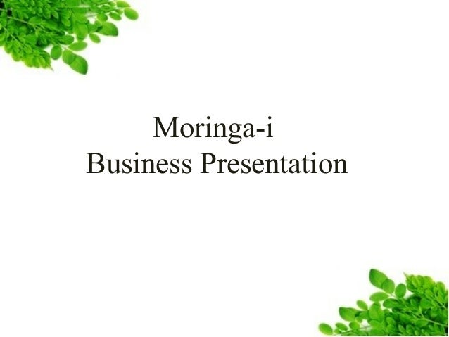 Moringa-i Business Presentation