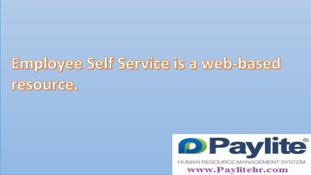 Paylite Employee Self Service offers a single and secure resouce for employees to manage thier personal information