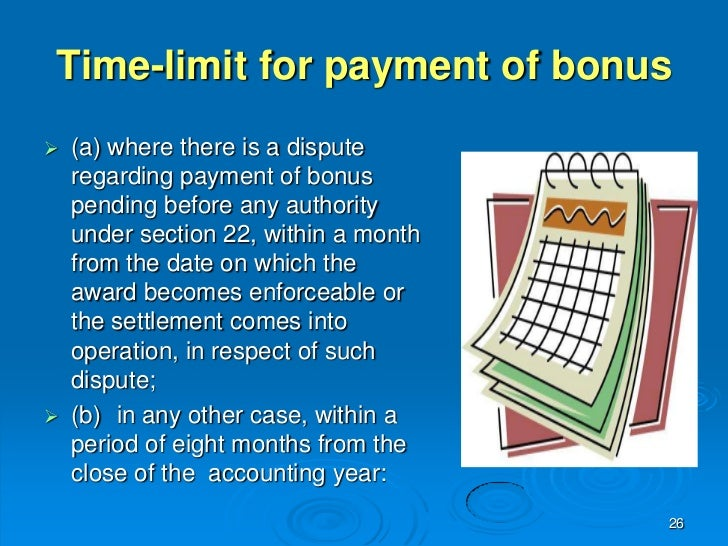 payment of bonus Bonus payment definition: an extra amount of money given to an employee in addition to their salary as a reward for excellent work:  learn more.