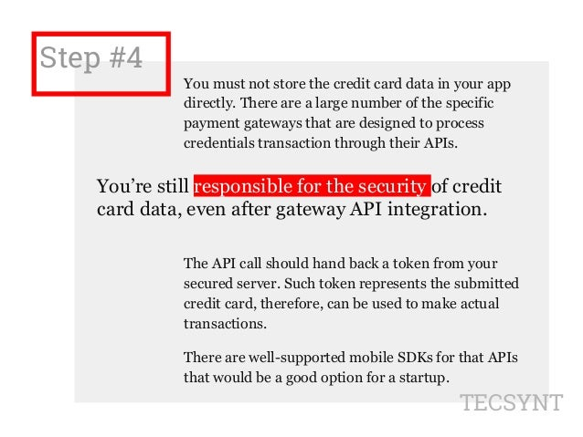 How to Build a Secure and Easy Mobile Payment app