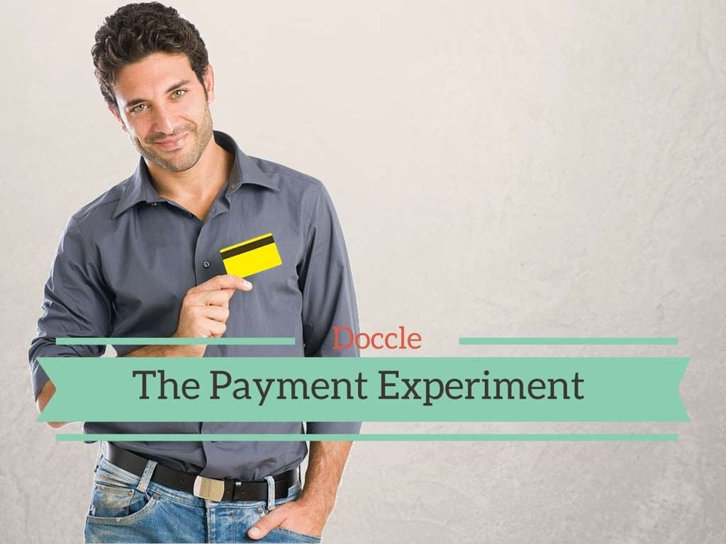 Doccle: The Payment Experiment