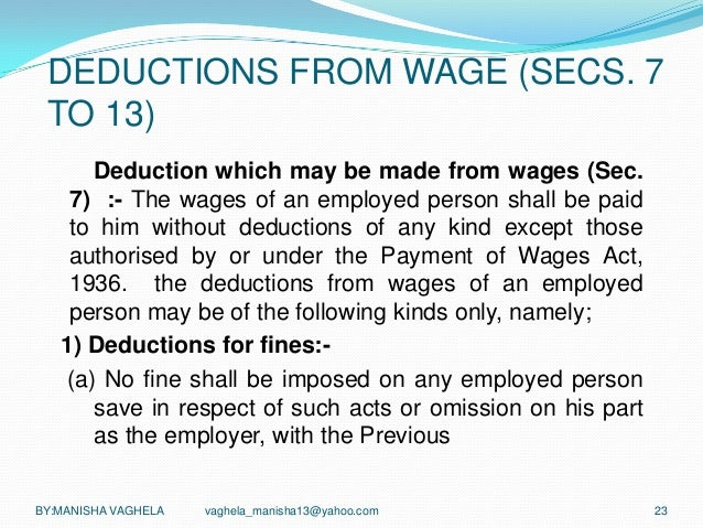 payment of wages act doc Payment of wages and fringe benefits act 390 legislative council, state of michigan courtesy of legislative council, state of michigan courtesy of www.