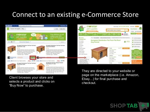Facebook Store Commerce Options