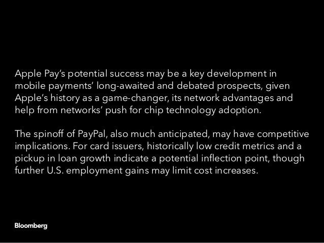 Payments industry watches for inflections in mobile, credit Slide 2