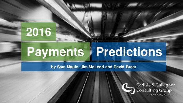 INSPIRED TO HELP YOU SUCCEED PredictionsPayments 2016 by Sam Maule, Jim McLeod and David Brear