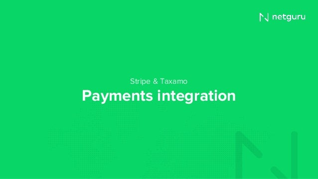 Payments integration Stripe & Taxamo